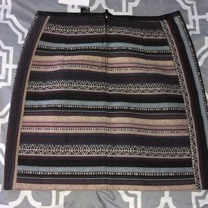 H&M Skirts - Multi-Colored Striped Skirt